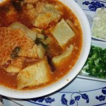Menudo—excellent Mexican soup using the stomach for protein—no waste