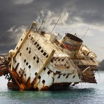 Typical ship breaking practices
