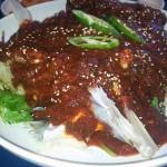 Wonderful dish made from codfish heads