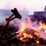 Air pollution as another ship breaking byproduct